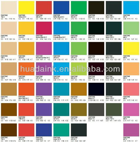 Topi Custom Colours Printing 1 fast setting color consistence pantone printing inks