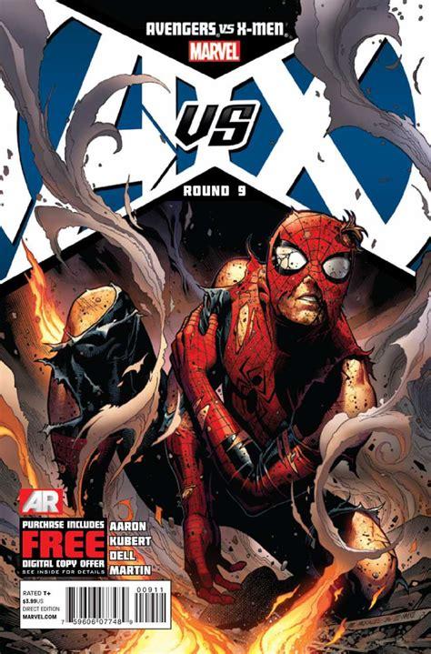 libro avengers versus x men avengers vs x men 9 round 9 issue
