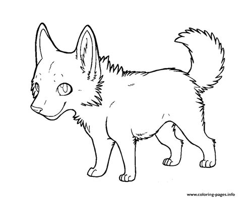 coloring pages of cute wolves cartoon wolf puppy coloring pages printable