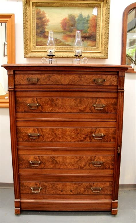 antique side locking chest of drawers found in ithaca 187 elegant antique eastlake dresser with