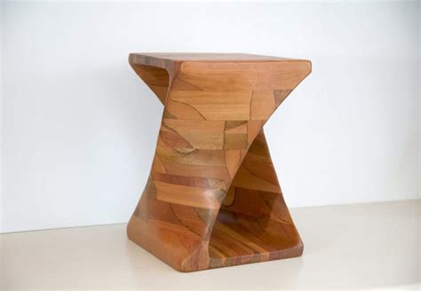 power carve  wooden twist table  arbortech  inspired