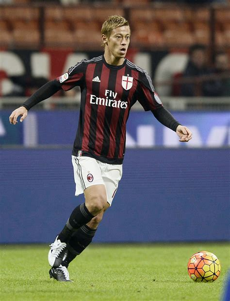 Honda Soccer Player Honda Determined To Reach Goals As Player Owner The