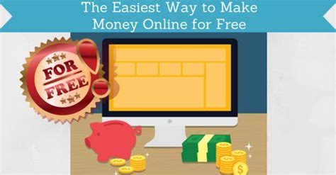 The Easiest Way To Make Money Online - the easiest way to make money online for free facebook paidfromsurveys com