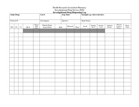 medication count sheet template pictures to pin on