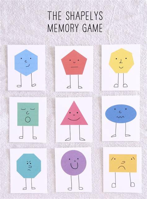 shape memory free for kids shape memory game