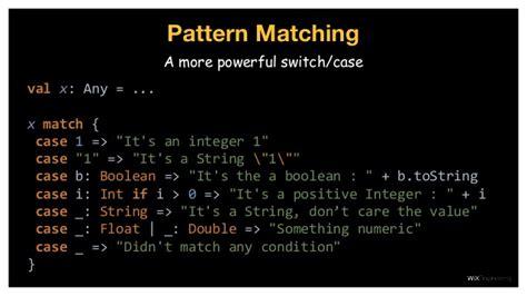scala pattern matching condition joy of scala