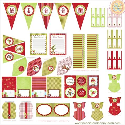 free printable christmas party decorations christmas printouts new calendar template site
