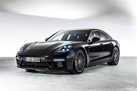 porsche panamera 2017 black exclusive photos 2017 porsche panamera gets huge spoiler