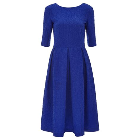 Dress Martine saloni martine dress in cobalt blue as worn by kate middleton