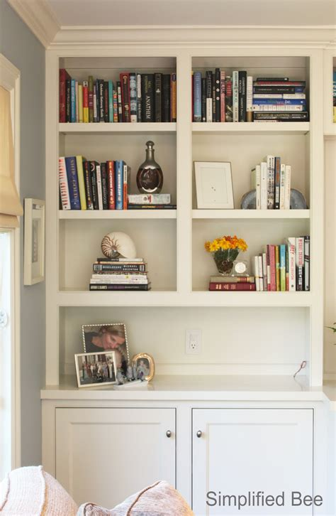 bookshelf styling before after michaela noelle designs