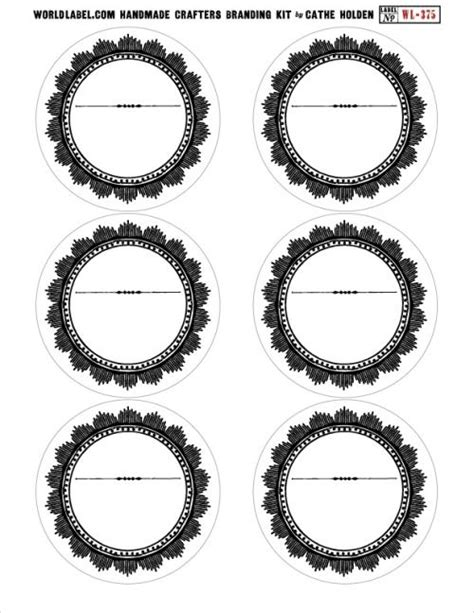 1000 images about round labels and round label template