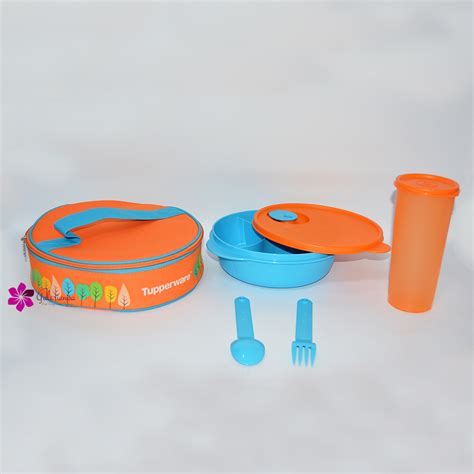 Lunch Set Homio fancy crystalwave lunch set tupperware katalog promo