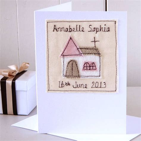 Christening Handmade Cards - best 25 baby christening gifts ideas on
