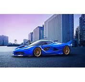 フェラーリFXX Kレースカー、青スー�ーカー 壁紙  1920x1200 壁紙ダウンロード JABest