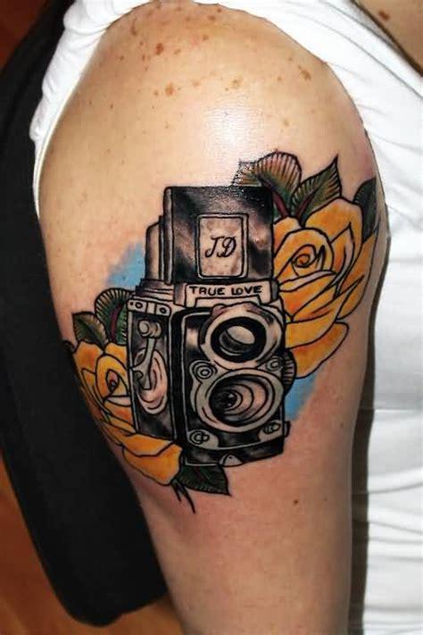 film stars tattoos film camera tattoo ideas and film camera tattoo designs