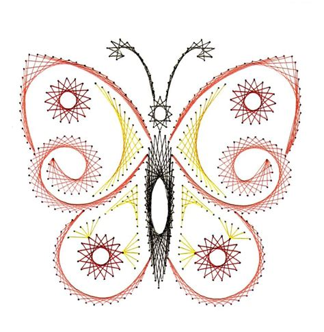 Paper String Patterns - 610 best embroidery on paper butterflies birds images