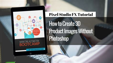 tutorial fx photo studio pixel studio fx tutorial how to create a 3d ecover