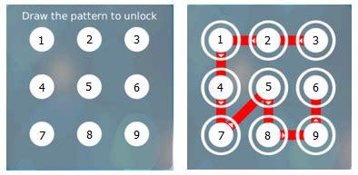 pattern lock online valid pattern lock 布布扣 bubuko com