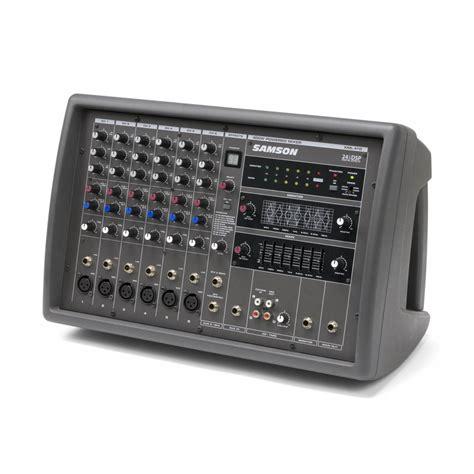 Mixer Audio Samson samson xml410 6 channel powered mixer