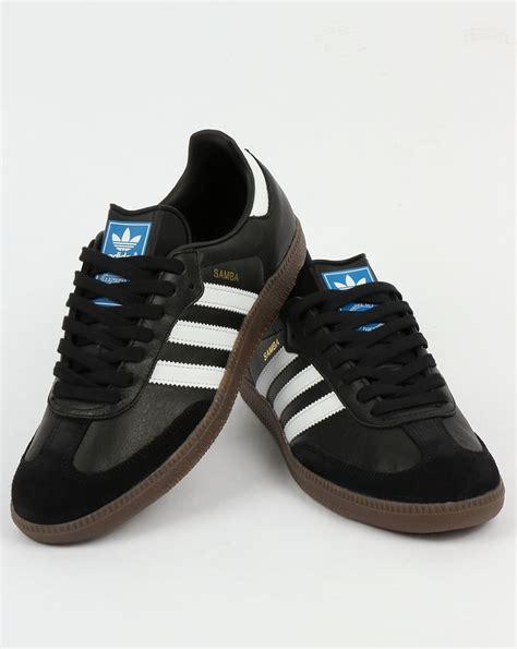adidas samba og adidas samba og trainers black white gum shoes leather