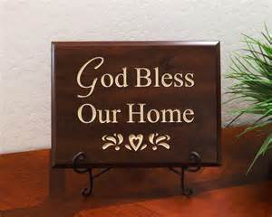 god bless our home wall decor pastor appreciation gifts