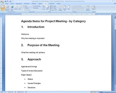 creating an agenda template creating an agenda template 1 best agenda templates