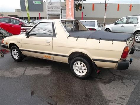 subaru ute subaru brumby 4x4 ute for sale auto traders woodville