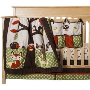 Forest Friends Crib Set by Sweet Jojo Designs 11pc Forest Friends Crib Set Home
