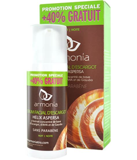 Serum Fruit Bio Spray armonia serum with snail slime helix aspersa 30ml 40 free mondebio