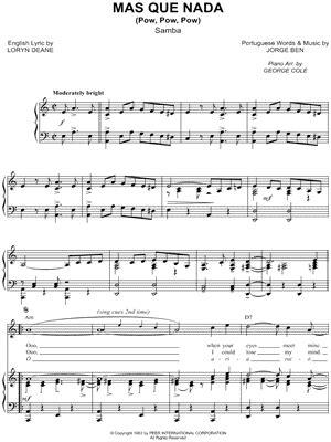 piano tutorial mas que nada digital sheet music at musicnotes