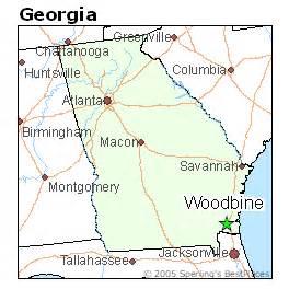 places    woodbine georgia