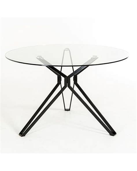 contemporary glass dining table 44d6105dt 1