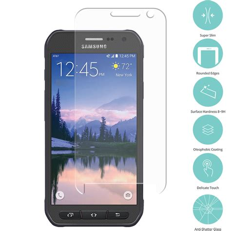 Tempered Glass Minote 5 samsung galaxy s6 active clear tempered glass screen