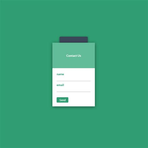 html design snippets modal contact form coding code css3 snippets buttons web