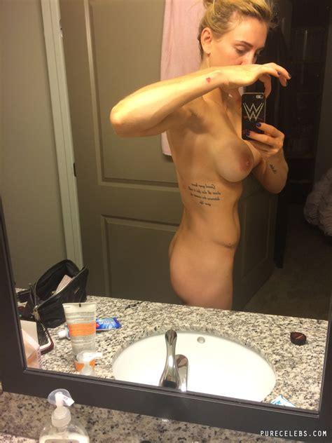 Charlotte Flair wwe Leaked Frontal Nude Selfie In The