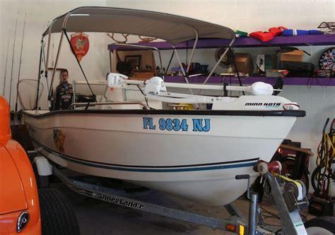 boat detailing stuart fl 16 key largo center console boat detailing class