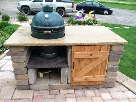 Bge Table by Future Plans Big Green Egg Tables