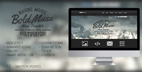 muse parallax templates muse templates bold muse parallax template themeforest