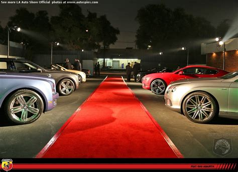 la auto show party  bentley   red carpet