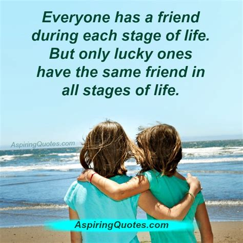Everyone Has A by Everyone Has A Friend During Each Stage Of Aspiring