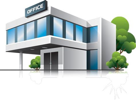 home office corporate building stock vectors cliparts