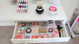 Makeup Desk Organization Ideas Makeup Storage Desk Makeup Vidalondon