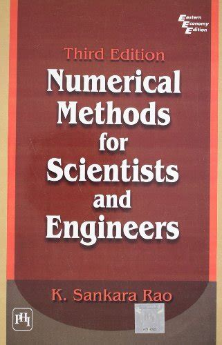 numerical methods for engineers books numerical methods for scientists and engineers by sankara
