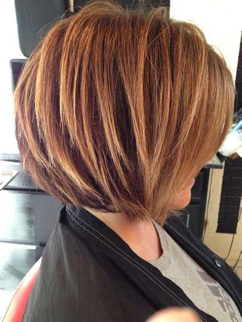one side stack sassy bob bllack hair 35 short stacked bob hairstyles short hairstyles 2017