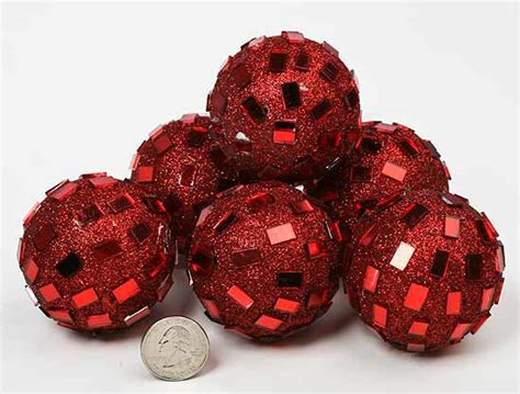 Decorative Bowl Filler Ideas by Mirrored Disco Balls Fillers Vase And Bowl Fillers