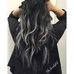 frosting your hair roots best 25 black and silver hair ideas on pinterest black