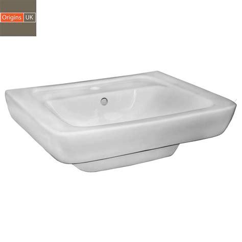 Square Basin Vanity Unit by Origins Square Vanity Unit With 550mm Basin Uk Bathrooms