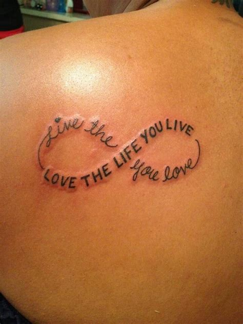 love the life you live tattoo live the you yhe you live tatoo