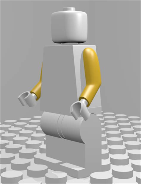 tutorial lego blender howto create a lego figure 3d model in blender 3d part 5