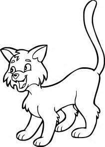 gatto disegno da colorare 2 disegni da colorare stampare gratis immagini bambini disney